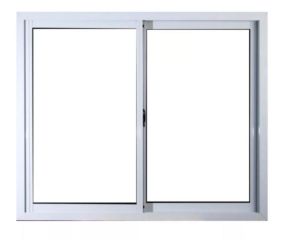 Ventana aluminio blanco vidrio entero libre for Ver ventanas de aluminio blanco